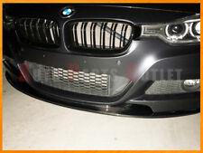 AP Style Carbon Fiber Front Bumper Lip For BMW 12-16 F30 328i 335i w/ M-Sport