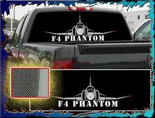 "F4 PHANTOM ""Truck Rear Window Graphic"" Free add Text"