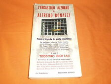 l'ergastolo azzurro di alfredo bonazzi todariana editrice 1971