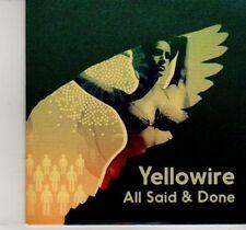 (DI236) Yellowire, All Said & Done - 2012 DJ CD