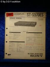Sony Service Manual ST S570ES Tuner (#0661)