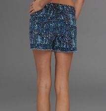 NWT Levi's Women's Multi-Color Denim Shorts w/Freyed Hem Size: 14
