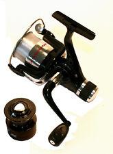 CARBO sciopero 60R FIXED spool mulinello da pesca, trascinare Posteriore, con linea + BOBINA DI RICAMBIO