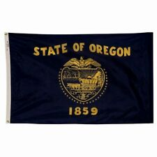 5x8 ft OREGON The Beaver State OFFICIAL 2 SIDED FLAG Outdoor Nylon Made in USA
