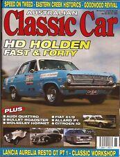 Aus Classic Car Nov 05 HD X1/9 Citroen ID Quattro