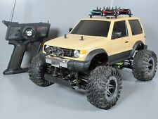 Custom 1/10 Tamiya R/C Baja King Chassis with Mitsubishi Pajero Body Futaba