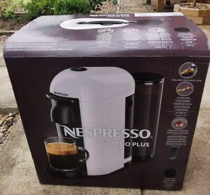 Brand New boxed Black Nespresso Vertuo Plus Coffee machine.