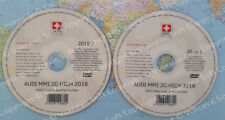 Audi MMI 2G High Navigation – Europa 2018 DVD1+DVD2
