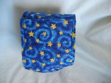"Dog Puppy Belly Band Wrap Contoured Diapers Male Puppy Flannel lined 18"" STARS"