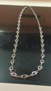 """Green Bay Packers 36"""" Chrome Necklace Adjustable to 29"""" C1"""