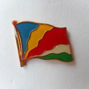 Seychelles Flag Pin, Flag, Pin, Needle, Badge, Seychelles