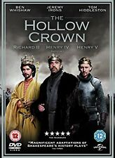 THE HOLLOW CROWN TV MINI SERIES - 4 DISC DVD BUNDLE NEW SEALED CHRISTMAS GIFT