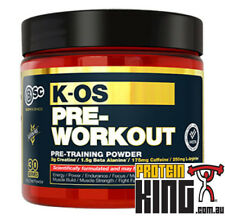 BODY SCIENCE KOS 180G BLUE RASPBERRY PRE WORKOUT ENERGY ENDURANCE BSC K-OS 1MR
