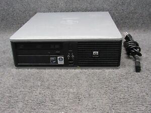 HP Compaq dc5850 SFF PC Computer AMD Phenom 8750B 2.40GHz 4GB RAM 250GB HDD
