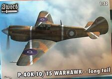 Sword 1/72 SW72065 Curtiss P-40K Warhawk (Kittyhawk Mk III) RAAF, RNZAF, RAF