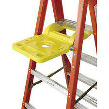 Werner 76-2 Molded Plastic Paint Pail Shelf Spill Proof Step Ladder Accessory