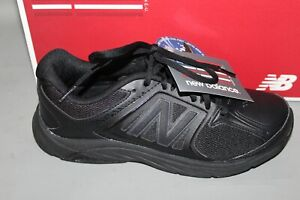 Women's New Balance WW847BK3 Black Supportive Walking Shoe