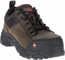 Merrell Moab Rover Lace CT Comp Toe Work Shoe Mens Size 11 M Expresso