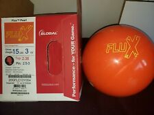 New 900 Global Flux Pearl Bowling Ball | 1st | 15#3oz Top 2.38oz Pin 2.5-3""