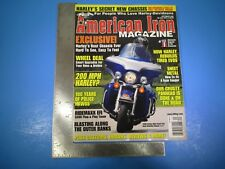 American Iron Magazine September 2008 Exclusive Harley's Best Chassis Ever M5866