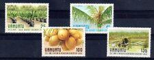 PLANTE LE COCOTIER Vanuatu 4 val de 1987 **