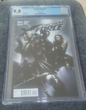 Uncanny X-Force #1 Crain Variant 1:25 Retailer CGC 9.8 NM/MT Marvel 2010