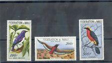 MALI Sc C2-4(MI 2-5)**VF NH 1960 BIRDS, AIRMAIL SET $85
