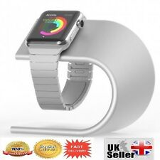 Watch Stand Charger Station Holder for Apple iWatch Acrylic Display - Silver