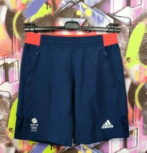 Great Britain Olympic Team London 2012 Shorts Adidas Olympic Games Mens size XS