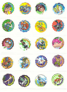 BEYBLADE SPINNERS Complete set Tazos Pogs Collection Figures Toys RARE Battling