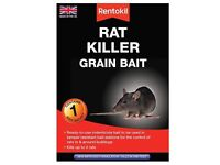 Rentokil Rat Killer Grain Bait 1 or 3 Bait Sachet Poison Pest Control Mice Mouse