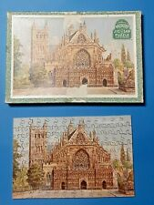 Vintage Victory Wooden Jig-saw Puzzle Exeter Cathedral Series Cathedral 125p