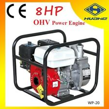 "8HP NEW 2 inch 2"" Water Pump Transfer Petrol High Pressure Fire Flow Irrigation"