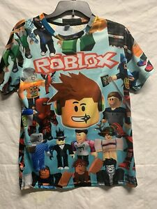 Roblox Characters Kids Youth T-Shirt Boys Short Sleeve Size Large