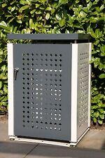 Mülltonnenbox, 120 Liter, NEU, Stahlblech pulverbeschichtet