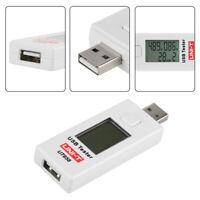 UNI-T UT658 Testeur USB Moniteur de tension numérique Testeur de capacité de