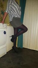 My smooth navy opaque tights