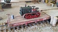 1/43 1:43 O Scale On30 On3 Die cast Cletrac 1930 Tractor
