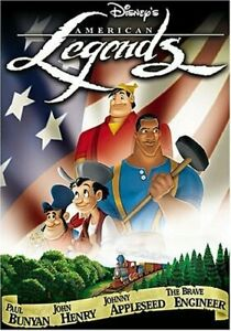 GOOD DVD Disney's American Legends DISNEY CLASSIC 2002 Alfree Woodard James Ear