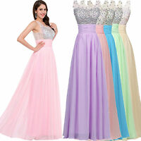 2016 Formal Long Ball Gown Party Prom Dress Bridesmaid Cocktail Evening Dresses