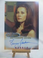 the women of Star Trek In Motion TOS autograph series A2 Sherry Jackson Andrea