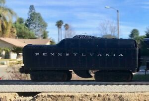 VERY NICE ORIGINAL POSTWAR LIONEL 2671W PENNSY TENDER ONLY - WHISTLE WORKS