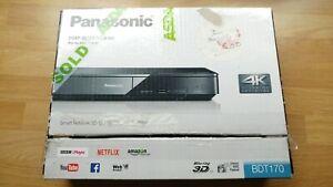 Smart 3D Blu-ray PLAYER 4K Upscaling - FULLY WORKING -Panasonic DMP-BDT170EB
