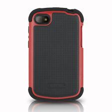 Ballistic SG1168-A305 Shell Gel Case for BlackBerry Q10 - Black/Red