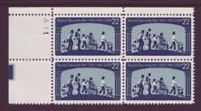 #2153 SOCIAL SECURITY ACT. WHOLESALE LOT OF (20) MINT PLATE BLOCKS. F-VF NH!