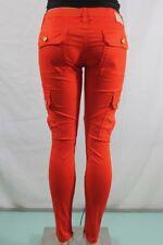Real Robin's Jean NEW Women Skinny Cargo Zipper Stretch SZ 29 100%Authentic USA