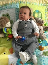 Reborn Baby Boy ( Zane ) Sweet Pea Sculpted By: Laura Lee Eagles 24 inches long