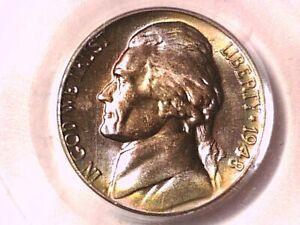 1948 P Jefferson Nickel PCGS MS 64 12006110 TONED