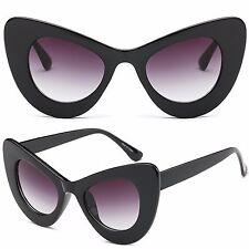 Mujer OJOS DE GATO plástico marco vintage retro forma Gafas de sol UV400