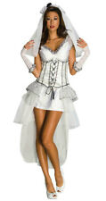 Secret Wishes Deluxe Gothic Mistress Monster Bride Women's Costume Small 2-6